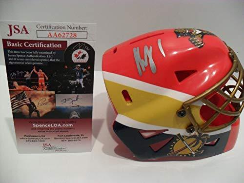- Roberto Luongo Autographed Signed Florida Panthers Helmet Mask Memorabilia JSA Nice