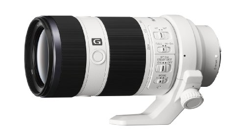Sony FE 70-200mm F4 G OSS Interchangeable Lens for Sony Alpha Cameras (Best Camera For 200)