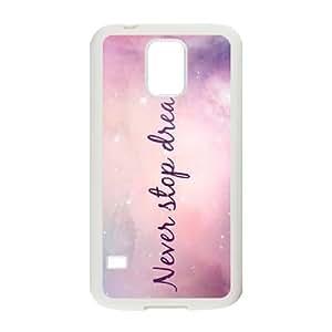 Galaxy Purple Unique Design Cover Case for SamSung Galaxy S5 I9600,custom case cover ygtg595701 by supermalls