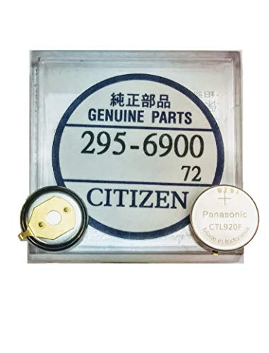 (295-6900 Genuine Original Citizen Watch Energy Cell - Battery - Capacitor for Eco-Drive Watch (Same as 295-69))