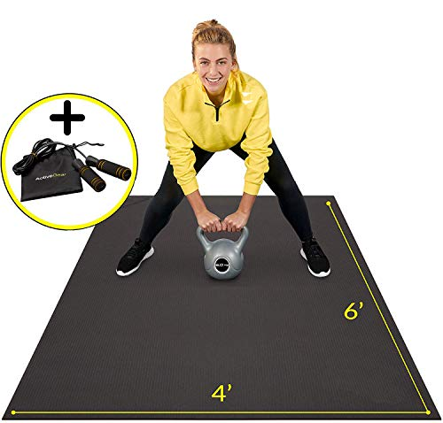 Premium Large Exercise Mat 6' x 4' x 7mm |