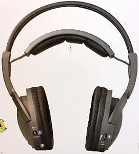 Radio Shack 900Mhz Wireless Stereo Headphones Rechargeable ... |Radioshack Wireless Headphones