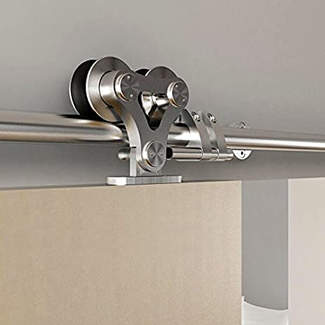 Amazon Diyhd 5ft Top Mount Brushed Stainless Steel Twin Roller