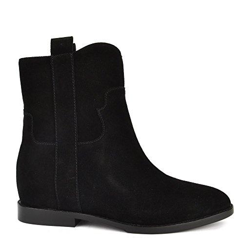 Ash Footwear Jane Black Suede Ankle Boot Black FpXuSJKLha