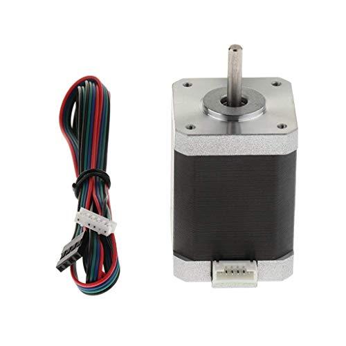 Price comparison product image nouler Juler 3D Printer Parts Stepper Motor Nema 42 1.8 Deg 4Wires 60Mm 1.5A Bipolar