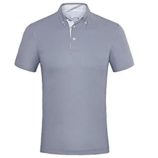 Mens Tech Performance Golf Polo Cleaning Shirt