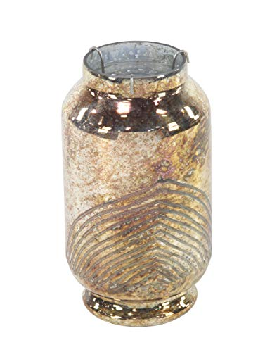 Deco 79 94973 Traditional Glass Candle Lantern 6