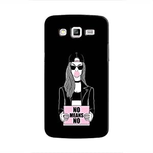 Cover It Up - No Means No Galaxy J2 Hard Case