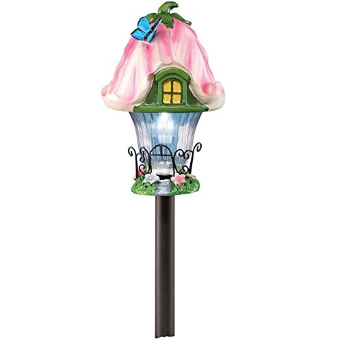 solar-fairy-house-garden-pathway-stake-pink