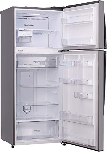 LG 471 L 2 Star LG Wi-Fi Inverter Linear Frost-Free Double-Door Refrigerator (GL-T502FPZU, Shiny Steel, Convertible) 2021 August Important note : This product is 3-star rated as per 2019 BEE rating and 2-star rated as per 2020 BEE rating 471 Liters Double Door Frost Free Refrigerator: Auto defrost function to prevent ice-build up Energy Rating: 2 Star | Best for Large family