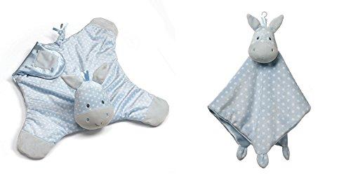 - GUND Baby Roly Polys Comfy Cozy Blanket Including Baby Roly Polys Lovey Security Blanket Bundle (Horse)