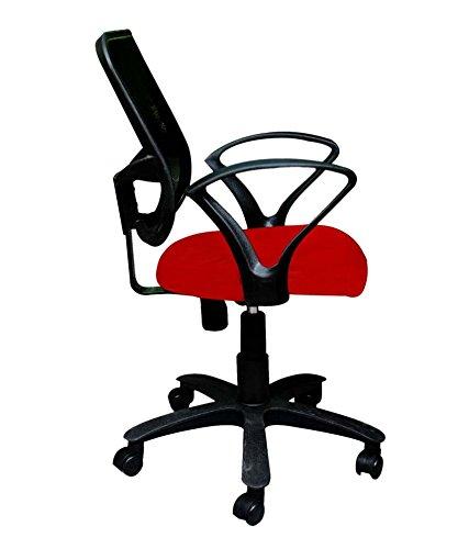 Fabulous Mavi Beautiful Red Office Chair Set Of 2 Mmb 112 Amazon Dailytribune Chair Design For Home Dailytribuneorg