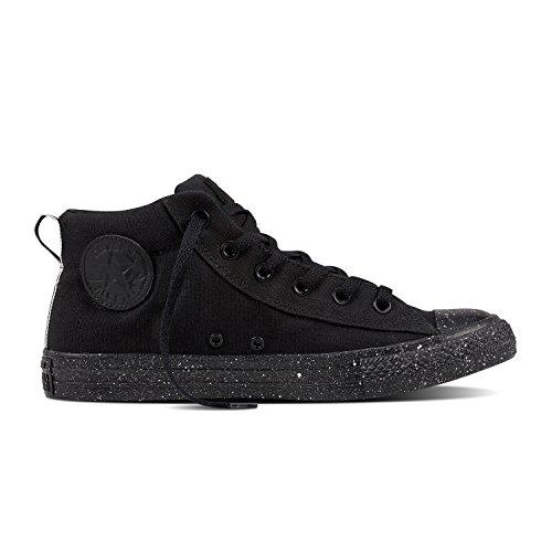 Converse Chuck Taylor Tout Étoiles Street Mid Sneakers Noir / Blanc / Noir Taille 8 Hommes / 10 Femmes