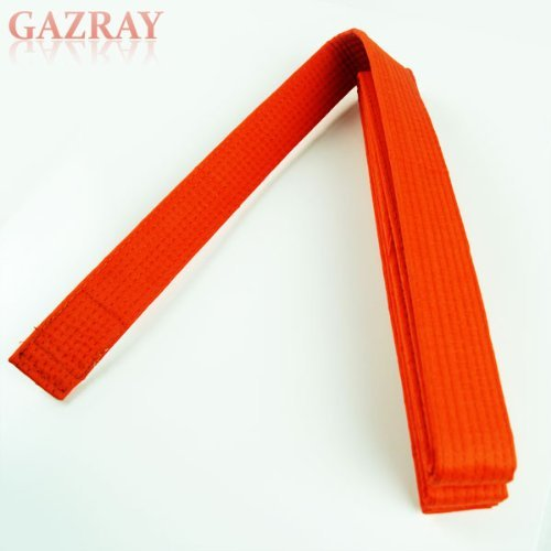 (Martial Arts Taekwondo Karate Judo Rank Belt Size 6, Orange)