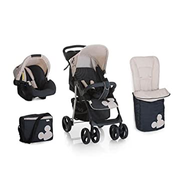 New Hauck Disney Winnie The Pooh TidyTime 3in1 Shopper Pushchair Buggy Pram Carrycot Car Seat Changing