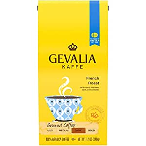 Gevalia French Roast Ground Coffee (12 oz Bag)