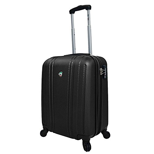 mia-toro-perla-hardside-spinner-carry-on-black-one-size