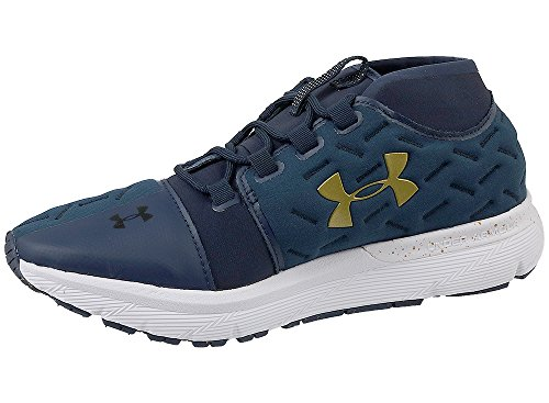 Image of Under Armour Men's Charged Reactor Run MDN/White/Metallic Gold 10.5 D US