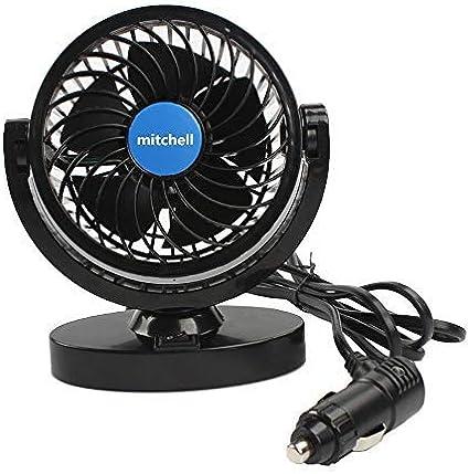 Amazon.es: Ventilador de Coche 12V, Potente Ventiladores para ...