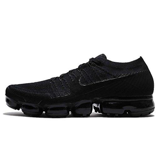 Nike Mens Air VaporMax Flyknit Running Shoe Black/Black/Anthracite LMeumL