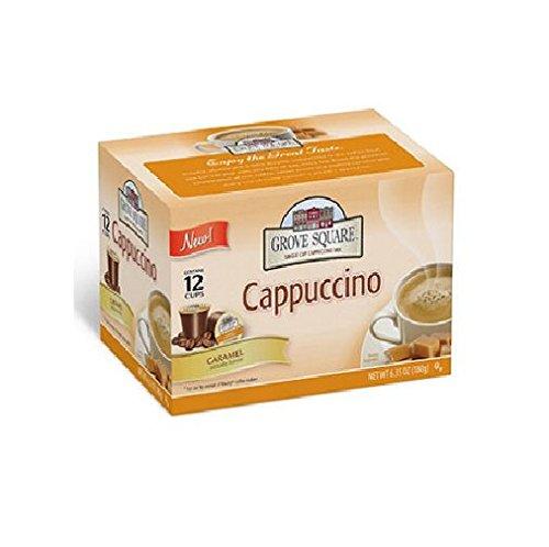 Grove Square Caramel Cappuccino, Single Serve (72 ct.)