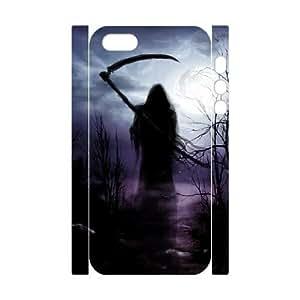 ALICASE Diy Customized Case Grim Reaper 3D Case for iPhone 5,5S [Pattern-4]