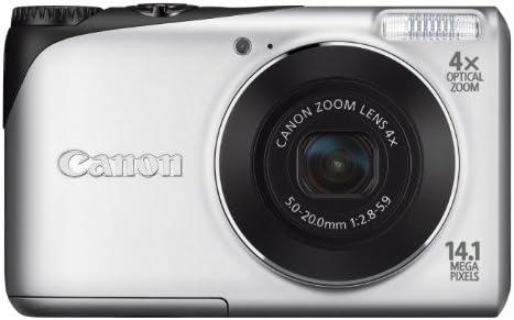 Canon Powershot A2200 Digitalkamera 2 7 Zoll Silber Kamera