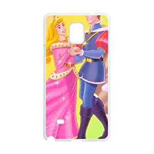 Samsung Galaxy Note 4 Cell Phone Case White Sleeping Beauty WYH Mobile Cases And Covers