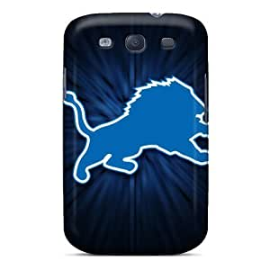 Durable Hard Cell-phone Cases For Samsung Galaxy S3 (WFW391wCnl) Support Personal Customs HD Detroit Lions Series hjbrhga1544