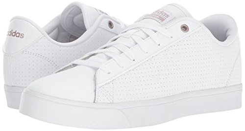 Adidas Neo Women's CF Daily QT CL W, White/White/Grey Two, 6.5 M US