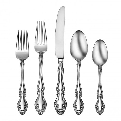 Oneida 78 Piece Adalyn 18/10 Stainless Fine Flatware Set, Service for 12