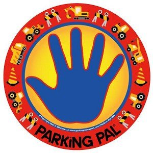 Parking Pal Car Magnet-Parking Lot Safety for Children (Construction)