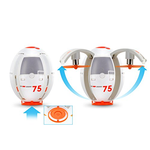 Buy cheap tenergy tdr eggsplorer quadcopter drone transformable flying egg rolling stunt auto hover
