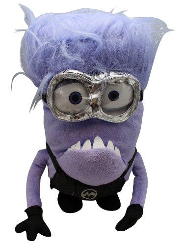 [Despicable Me Evil Minion Plush Bagclip- Tim] (Despicable Me Glasses)