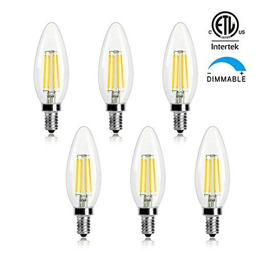 Ge Led Candelabra Light Bulbs - 8