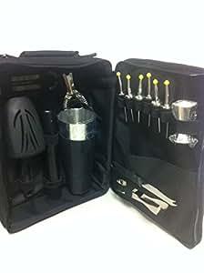 Set de coctelería bolsa de barman color black boston tin shaker01