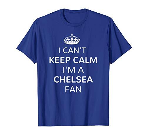 Chelsea Soccer Jersey Keep Calm London Blues Fan Shirt