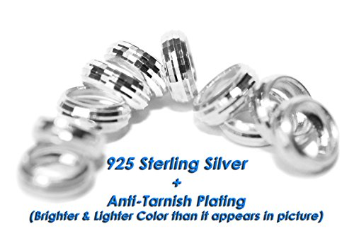 Dolceoro Sterling Silver Rondelle European product image