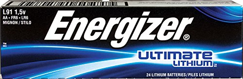 Lithium Battery Box - Energizer Ultimate Lithium AA Batteries, (24 Count)