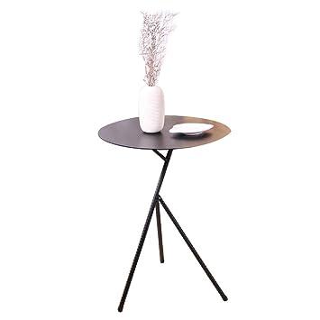 Wynzybz Table Basse Ronde En Fer Forge Table D Appoint De Salon