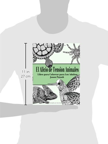 El Alivio de Tension Animales : Libro para Colorear para Los Adultos ...
