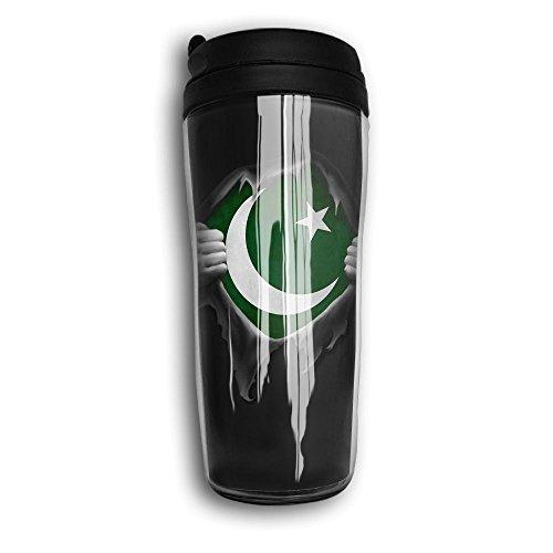 XNURON4 Pakistan Flag Proud Pakistani Cool 3D Design, Good Quality And Heat Preservation Coffee - Pictures Pakistani Men