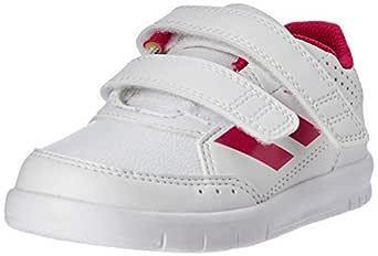 adidas Girls' AltaSport Shoes, Footwear White/Bold Pink/Footwear White, 3 US (3 AU)
