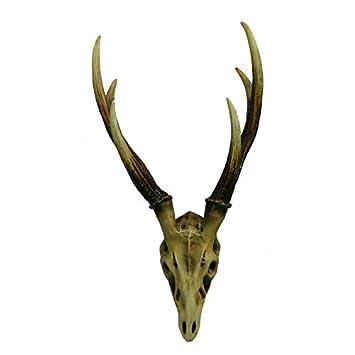Amazon Com Polyresin Rustic Brown Hunter Deer Wall Mounted