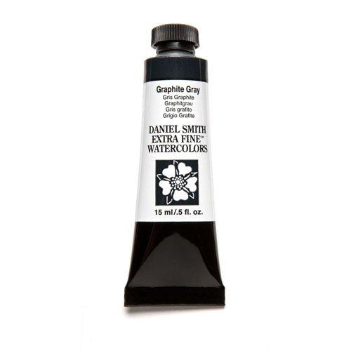 Graphite Gray Series - DANIEL SMITH Extra Fine Watercolor 15ml Paint Tube, Graphite Gray
