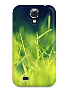 Excellent Galaxy S4 Case Tpu Cover Back Skin Protector Amazing Beautiful Grass Android