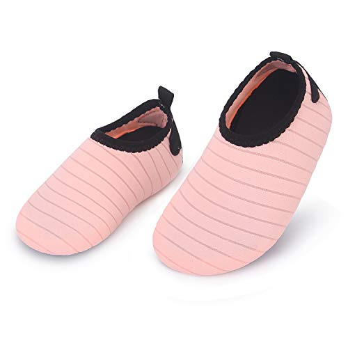 L-RUN Barefoot Sports Shoes for Boys Girls Toddler Apricot 18-24 Months=EU21-22