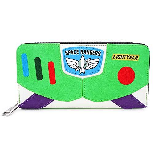 Buzz Lightyear Female (Loungefly Toy Story Buzz Lightyear Faux Leather Wallet)