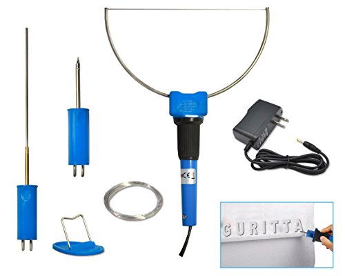 Guritta Perfect Mini Electric Foam Cutter kit 3 in 1 design Crafter's Sculpting DIY Tool Artwork Piece Model Development Handmade Practise by Hobbyist Hot Stainless Steel Wire Cutting Engraver Tips