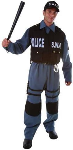 Dress up America Deluxe S.W.A.T. Oficial de policía Disfraz para ...